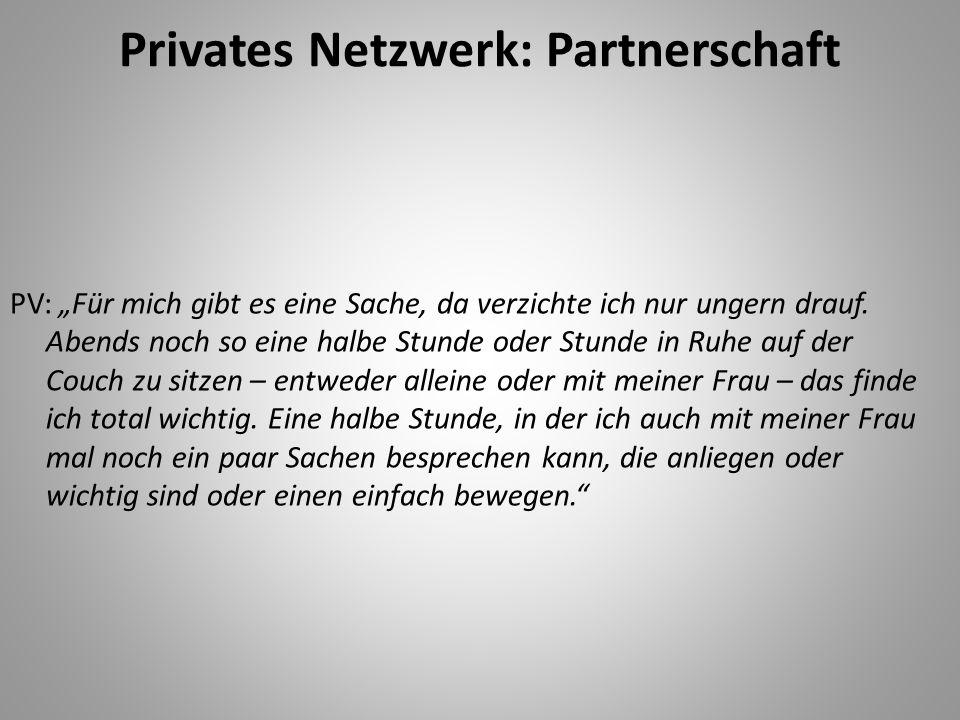 Privates Netzwerk: Partnerschaft