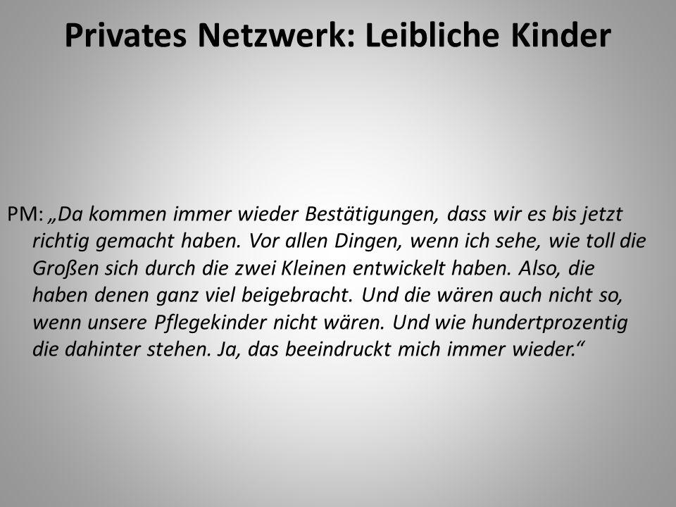 Privates Netzwerk: Leibliche Kinder