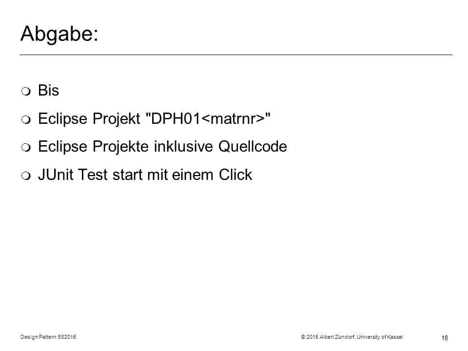 Abgabe: Bis Eclipse Projekt DPH01<matrnr>
