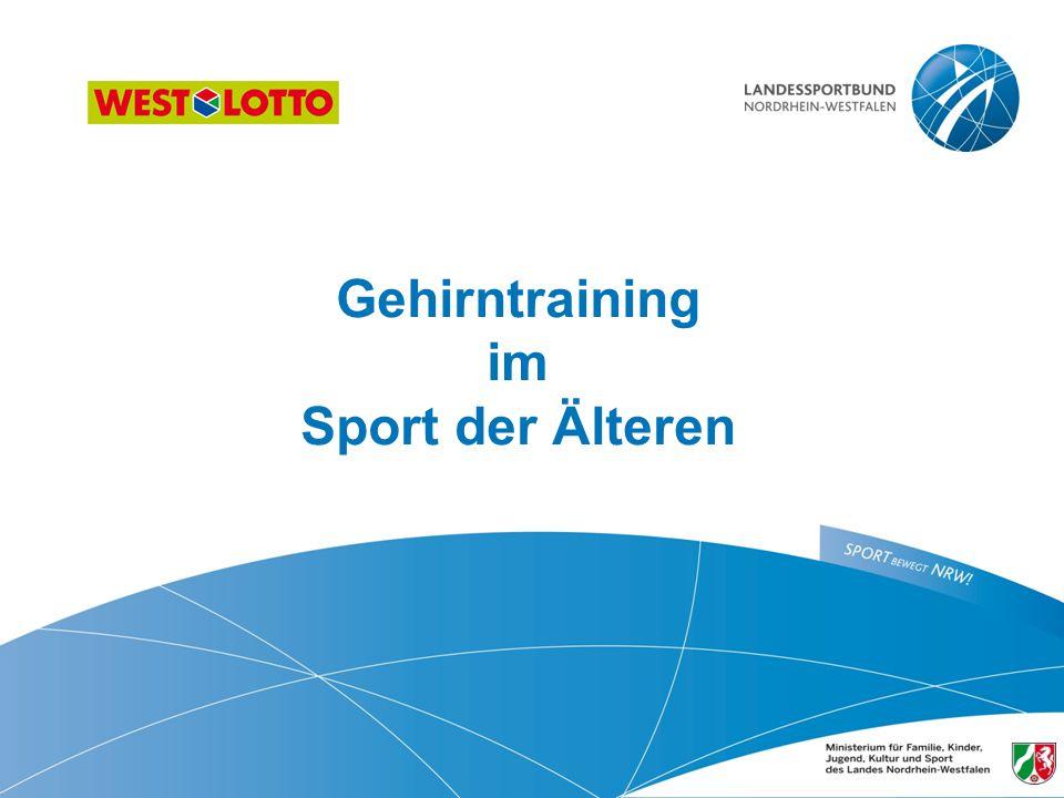 Gehirntraining im Sport der Älteren
