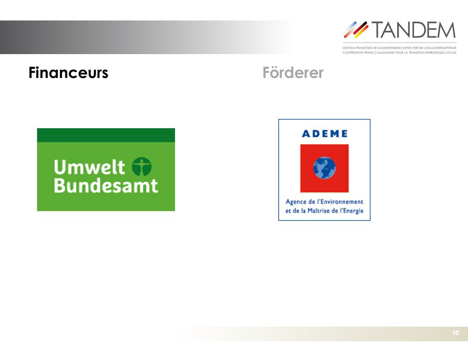 Financeurs Förderer