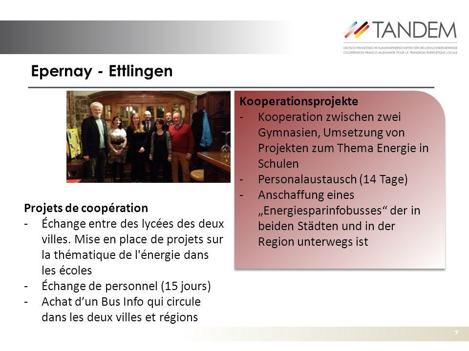 Epernay - Ettlingen Kooperationsprojekte