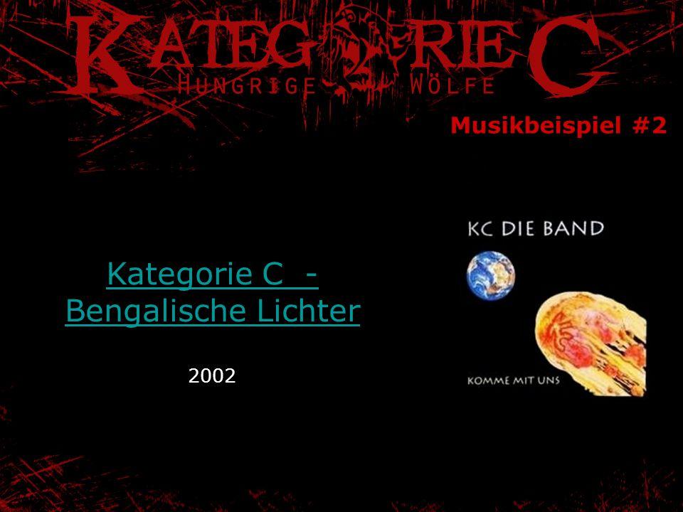 Kategorie C - Bengalische Lichter 2002