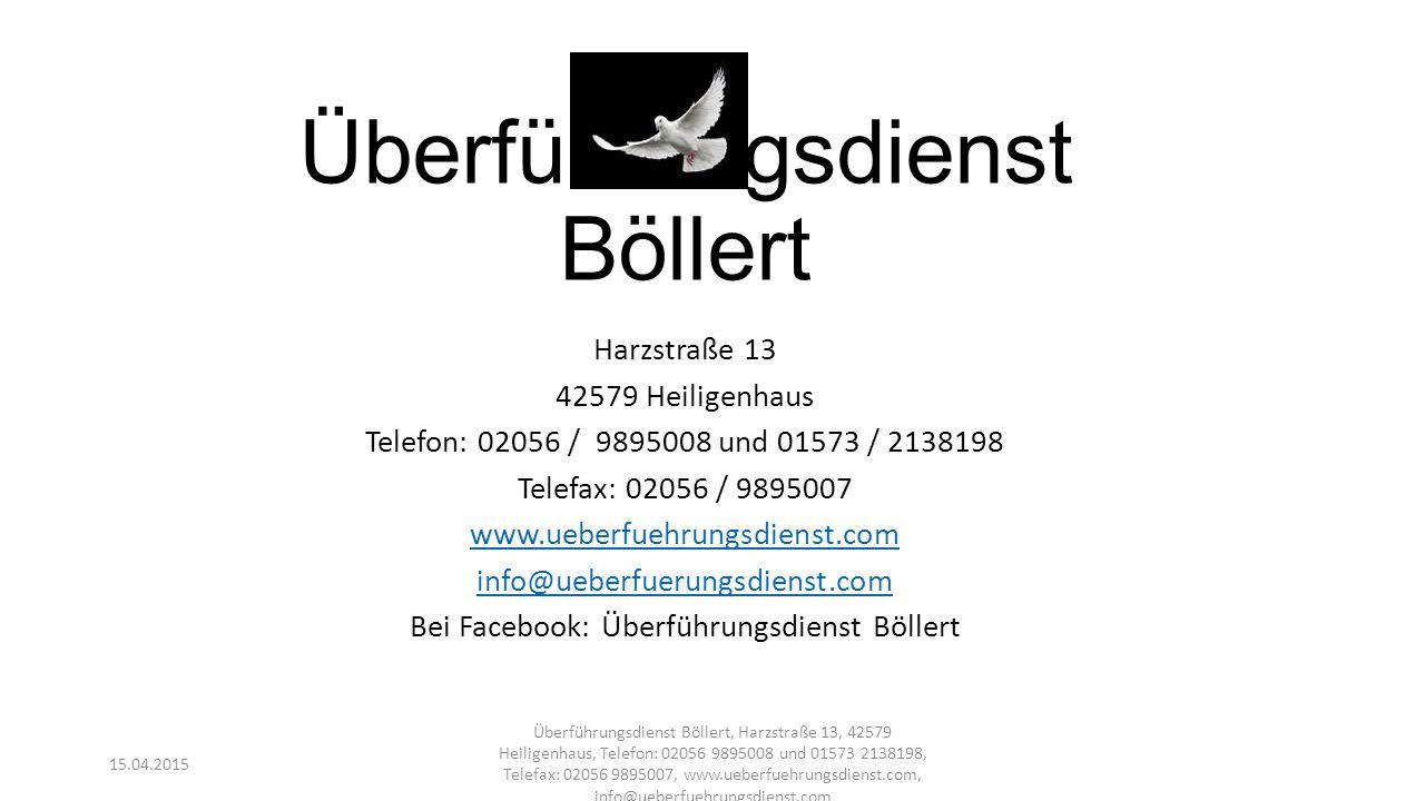 Überführungsdienst Böllert