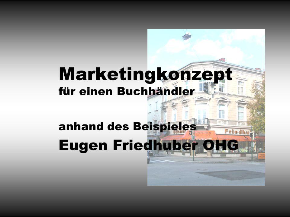 Marketingkonzept für einen Buchhändler