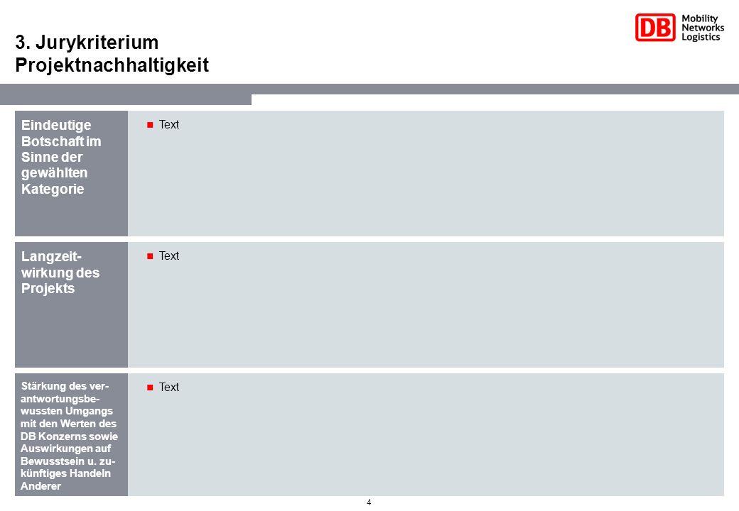 3. Jurykriterium Projektnachhaltigkeit