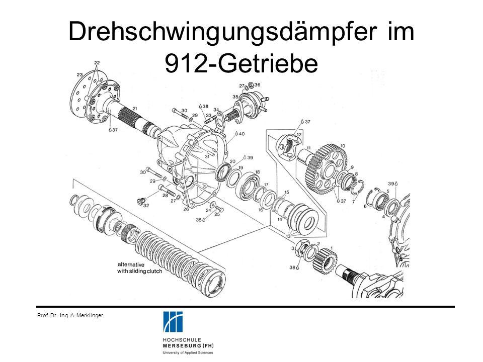 Drehschwingungsdämpfer im 912-Getriebe