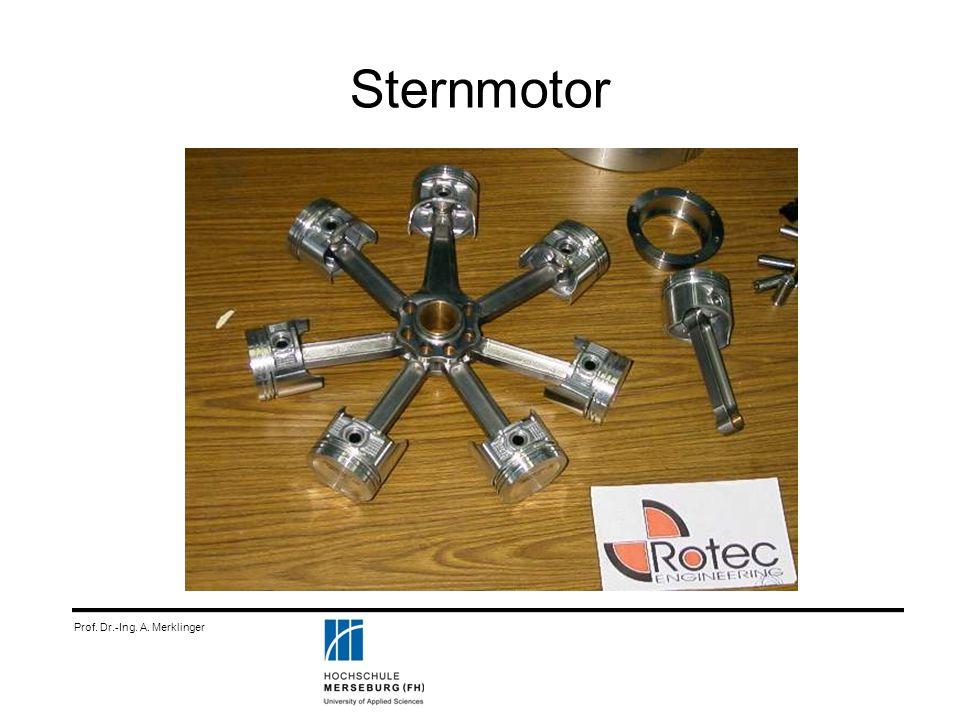 Sternmotor Prof. Dr.-Ing. A. Merklinger