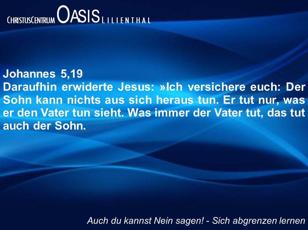 Johannes 5,19