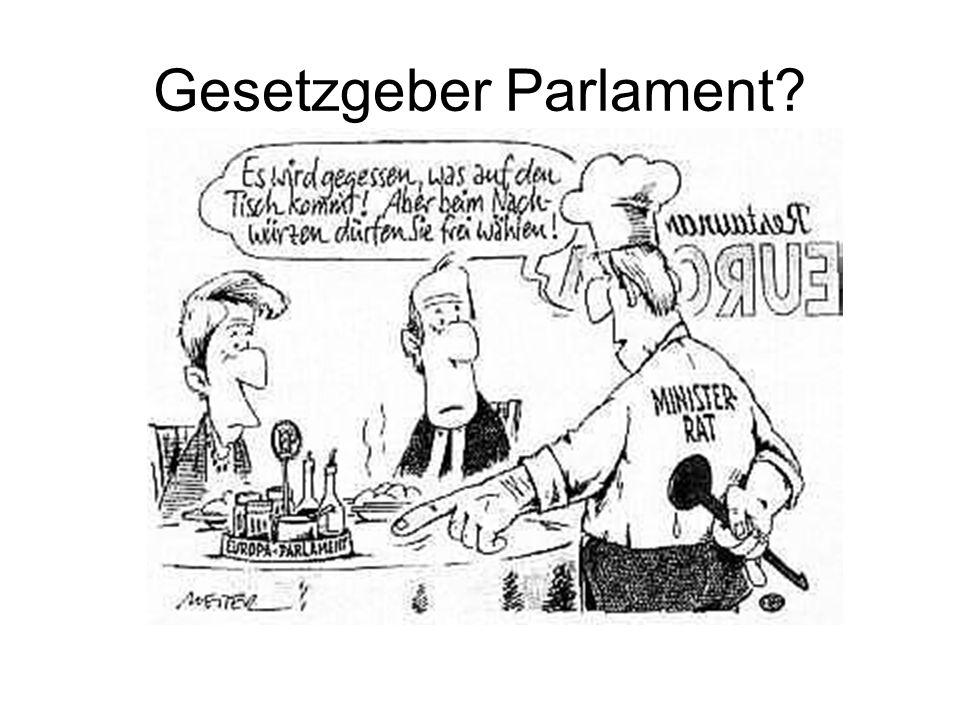 Gesetzgeber Parlament