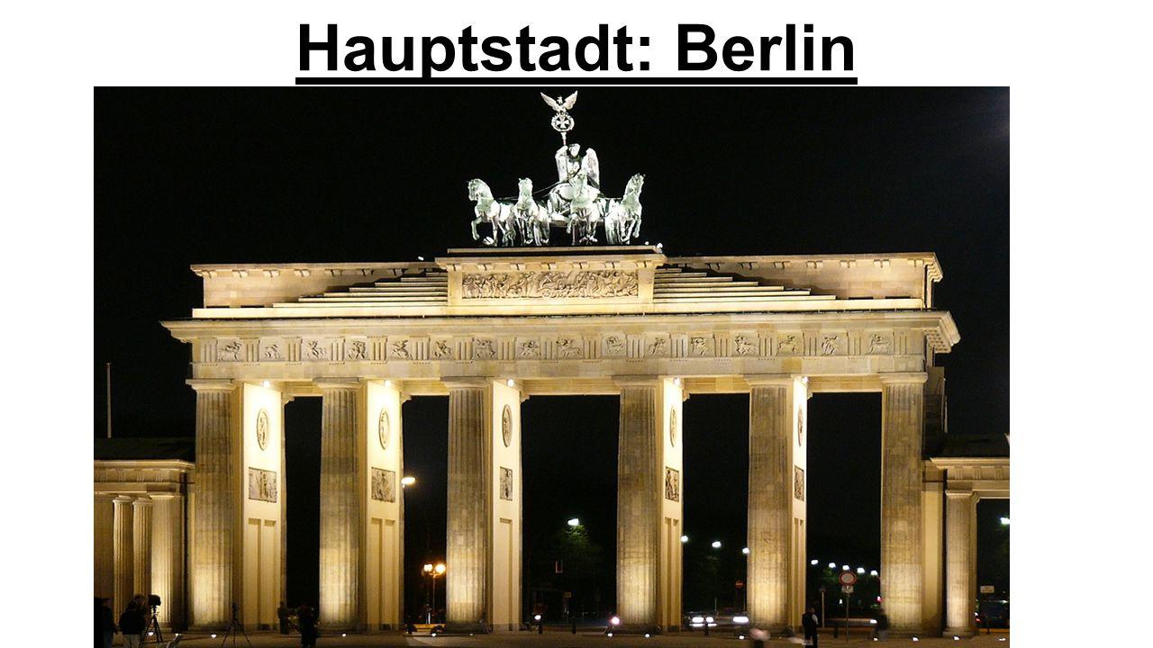 Hauptstadt: Berlin