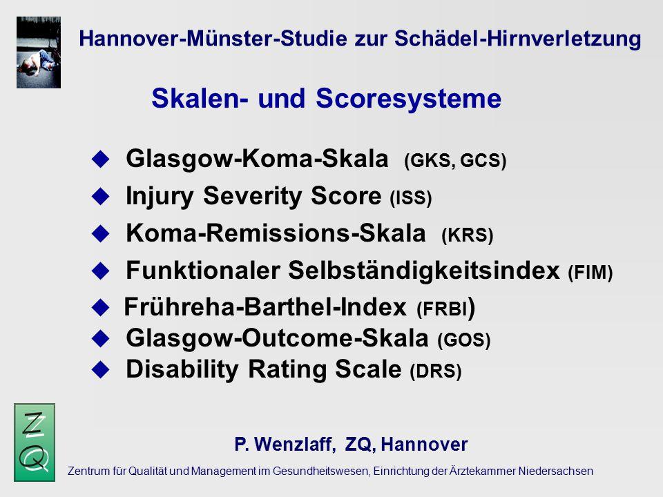 Skalen- und Scoresysteme