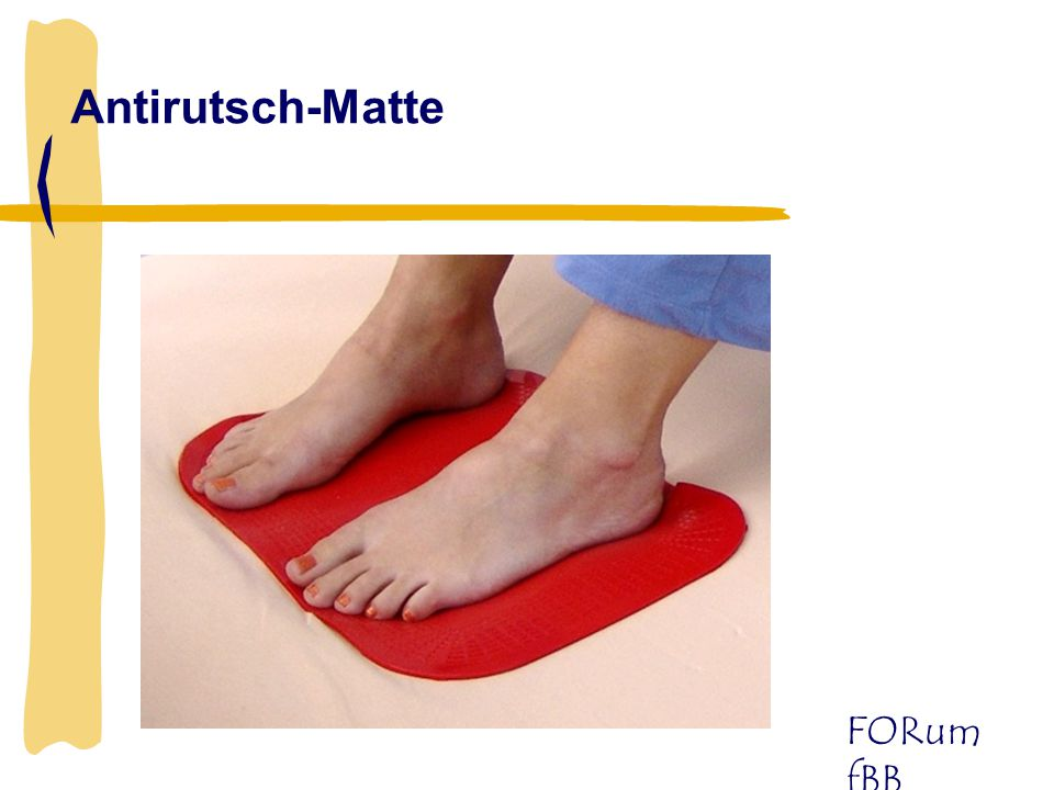 Antirutsch-Matte
