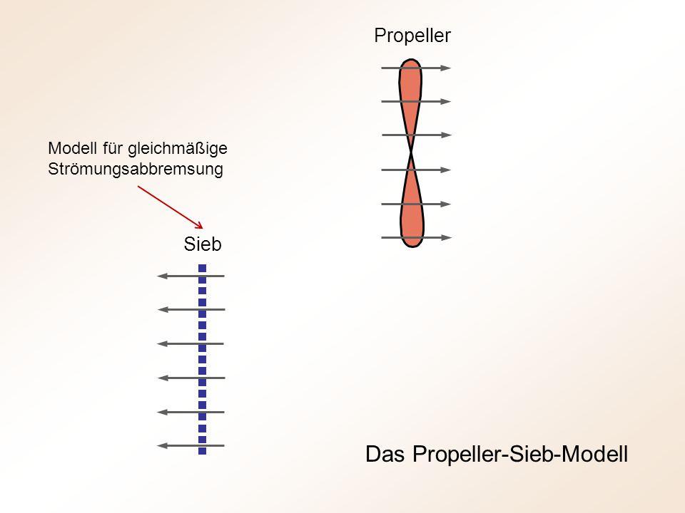 Das Propeller-Sieb-Modell
