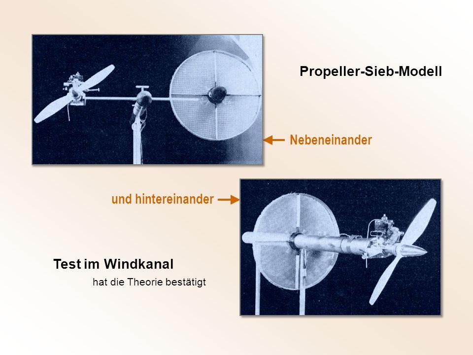 Propeller-Sieb-Modell