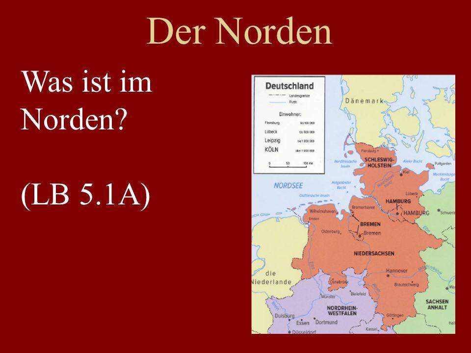 Der Norden Was ist im Norden (LB 5.1A)