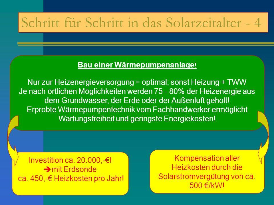 Schritt für Schritt in das Solarzeitalter - 4
