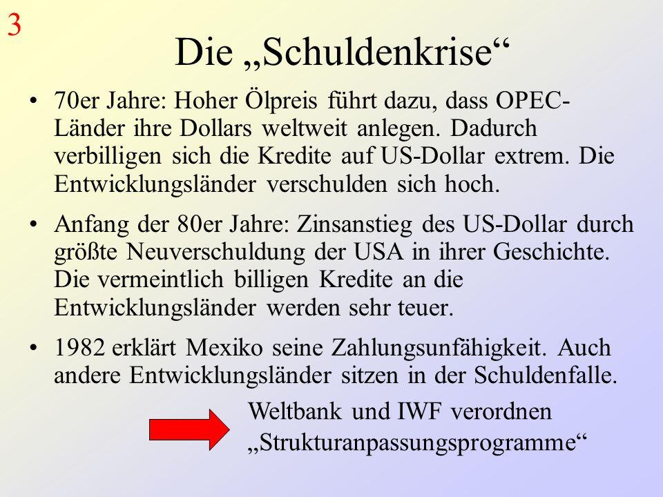 """3 Die """"Schuldenkrise"""