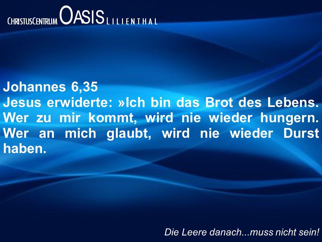 Johannes 6,35