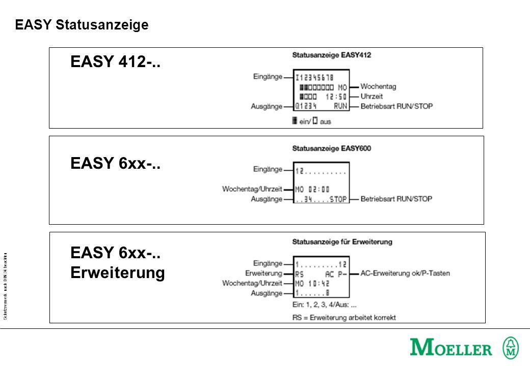 EASY 412-.. EASY 6xx-.. EASY 6xx-.. Erweiterung EASY Statusanzeige
