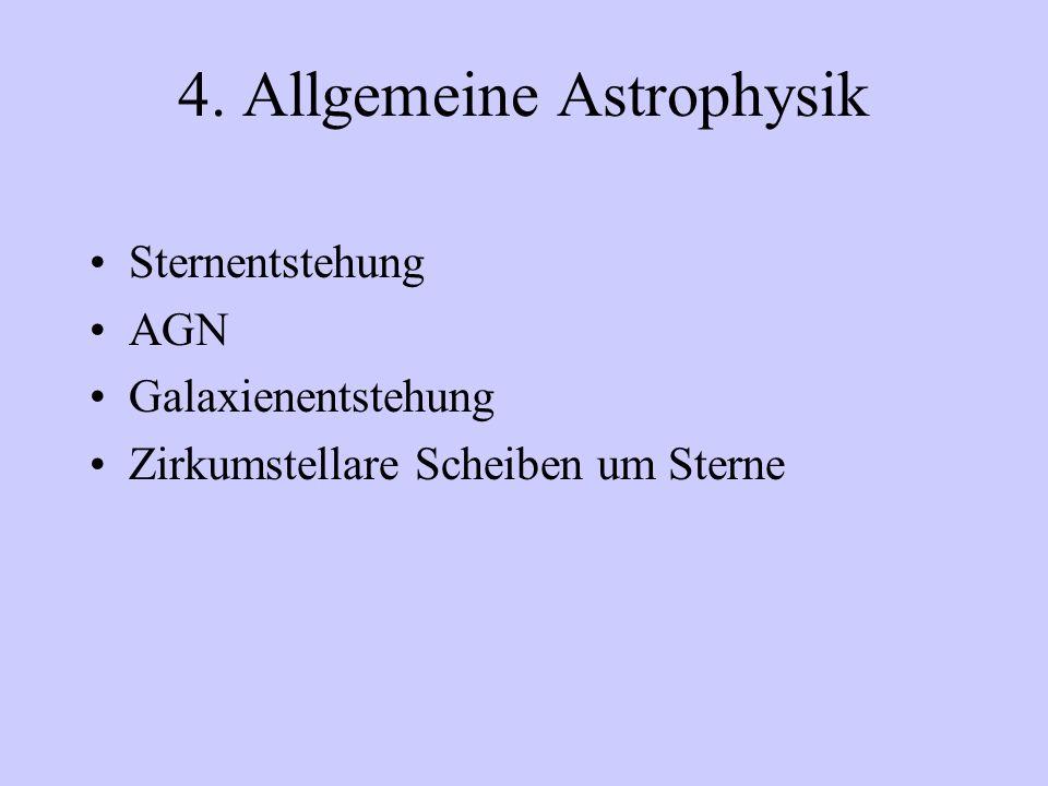 4. Allgemeine Astrophysik