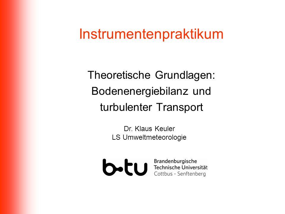 Instrumentenpraktikum