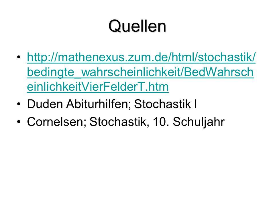 Quellen http://mathenexus.zum.de/html/stochastik/bedingte_wahrscheinlichkeit/BedWahrscheinlichkeitVierFelderT.htm.