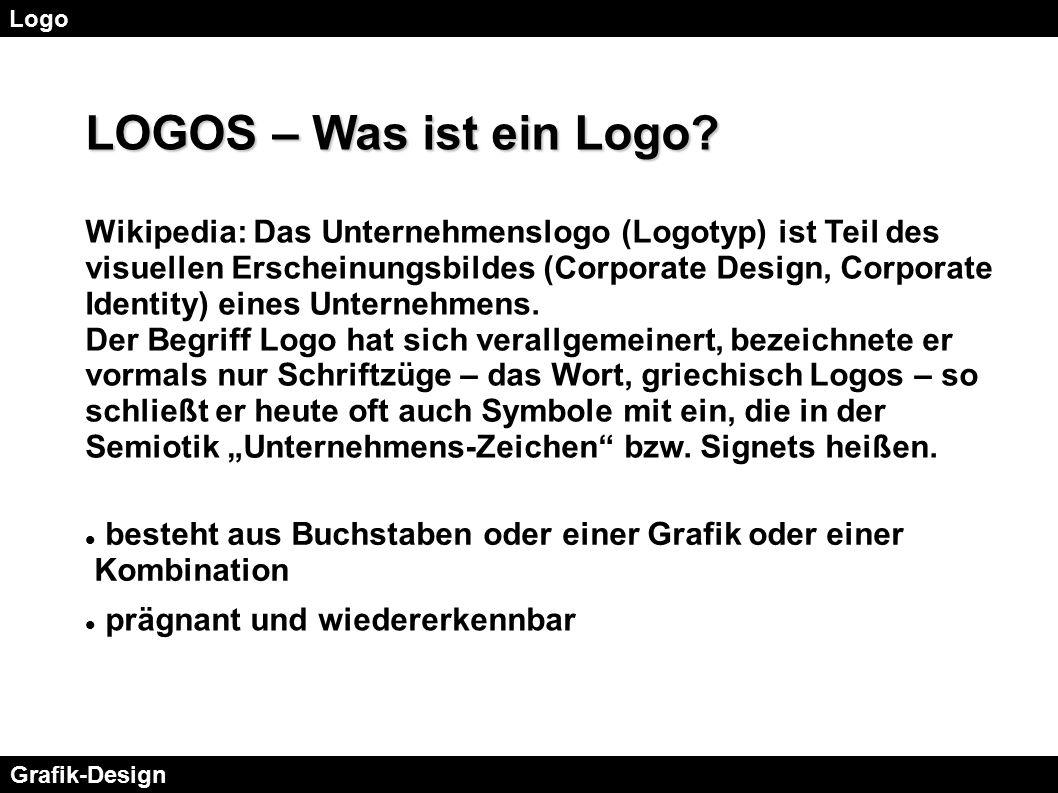 Logo LOGOS – Was ist ein Logo