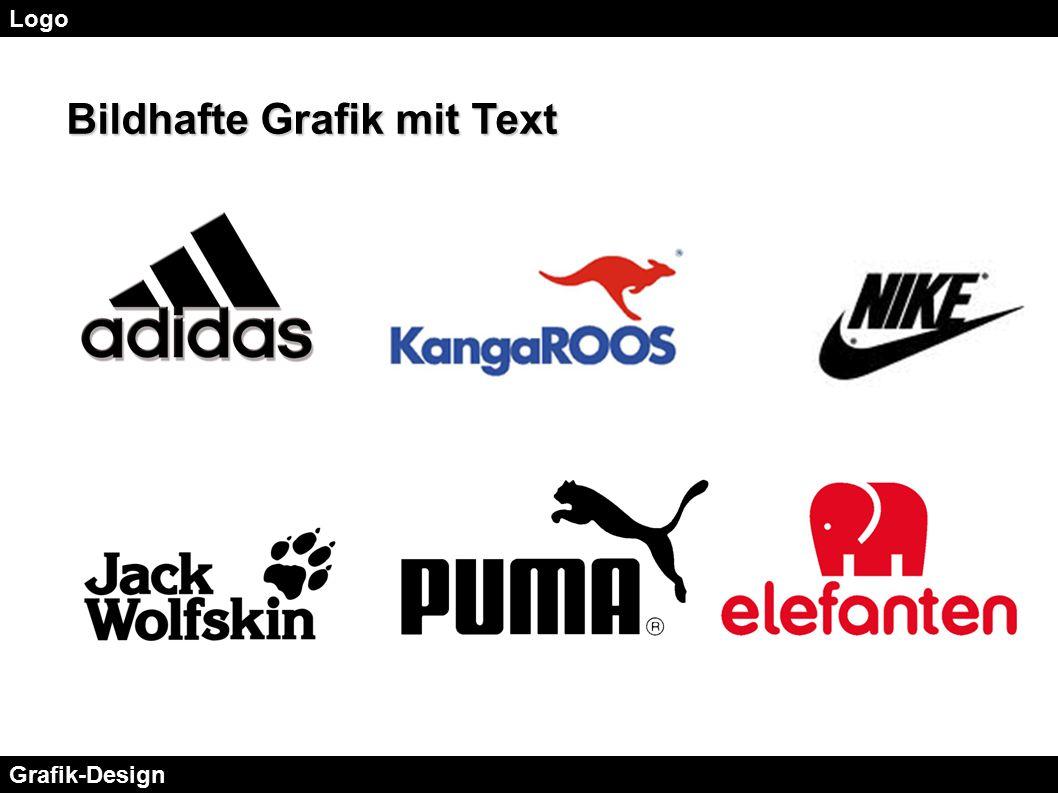 Bildhafte Grafik mit Text