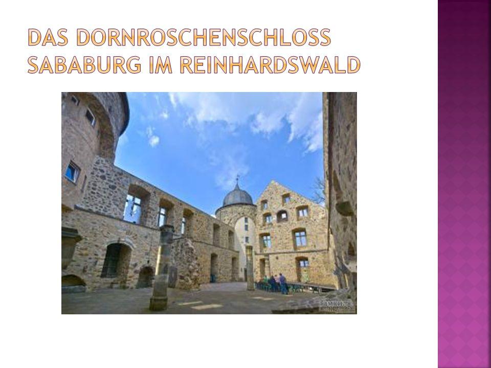 Das Dornroschenschloss Sababurg im Reinhardswald