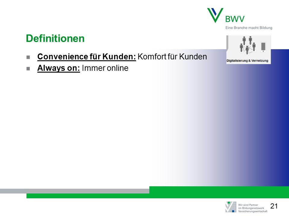Definitionen Convenience für Kunden: Komfort für Kunden