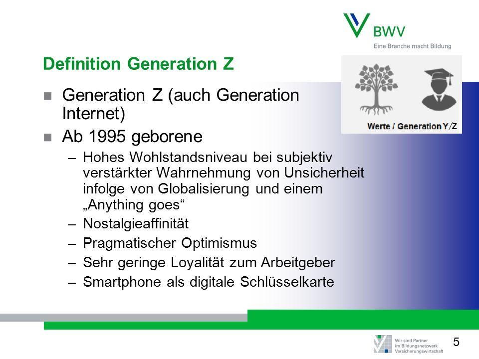 Definition Generation Z