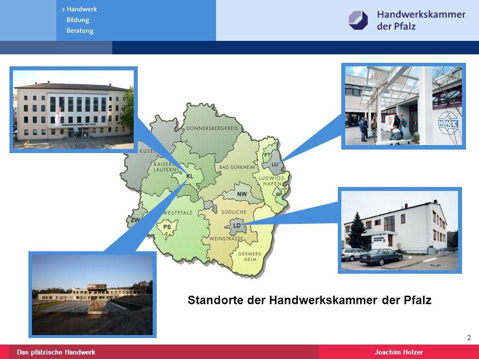 Standorte der Handwerkskammer der Pfalz