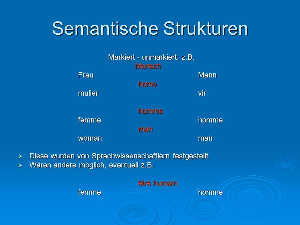 Semantische Strukturen