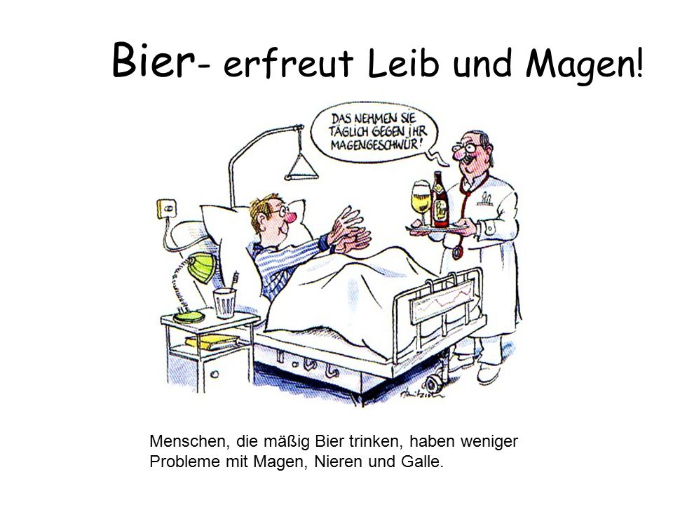 Bier- erfreut Leib und Magen!