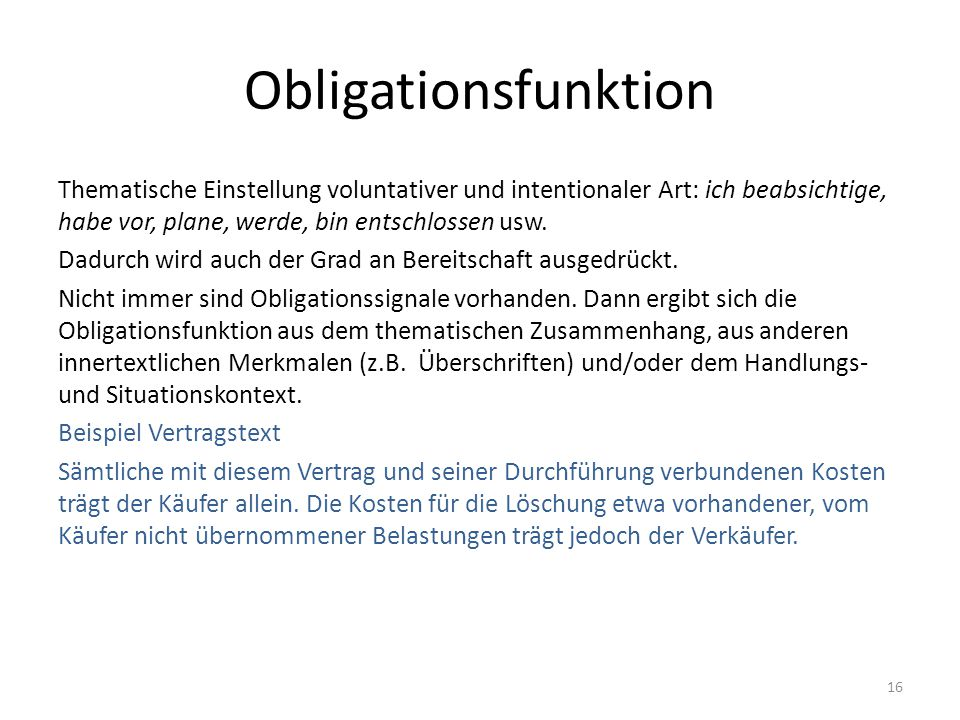 Obligationsfunktion