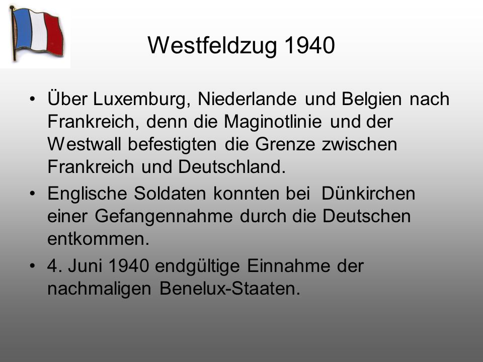 Westfeldzug 1940