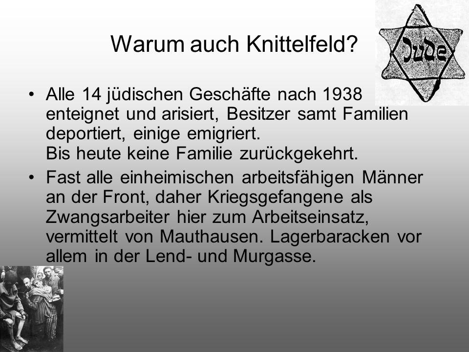 Warum auch Knittelfeld