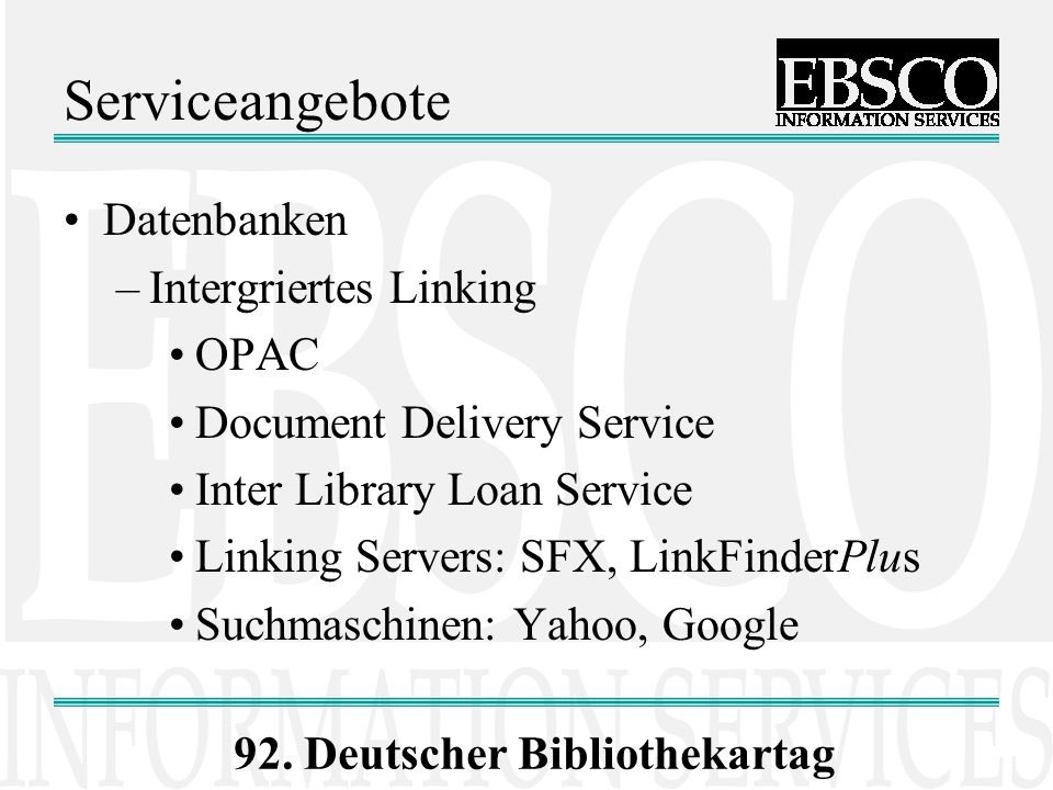 92. Deutscher Bibliothekartag