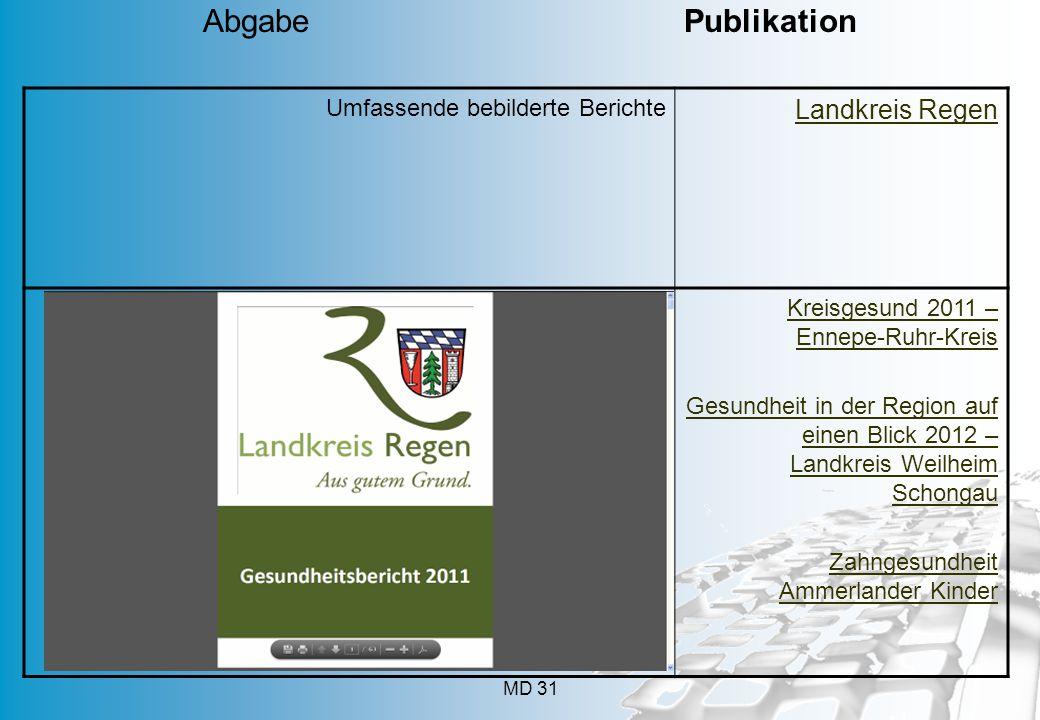 Abgabe Publikation Landkreis Regen Umfassende bebilderte Berichte