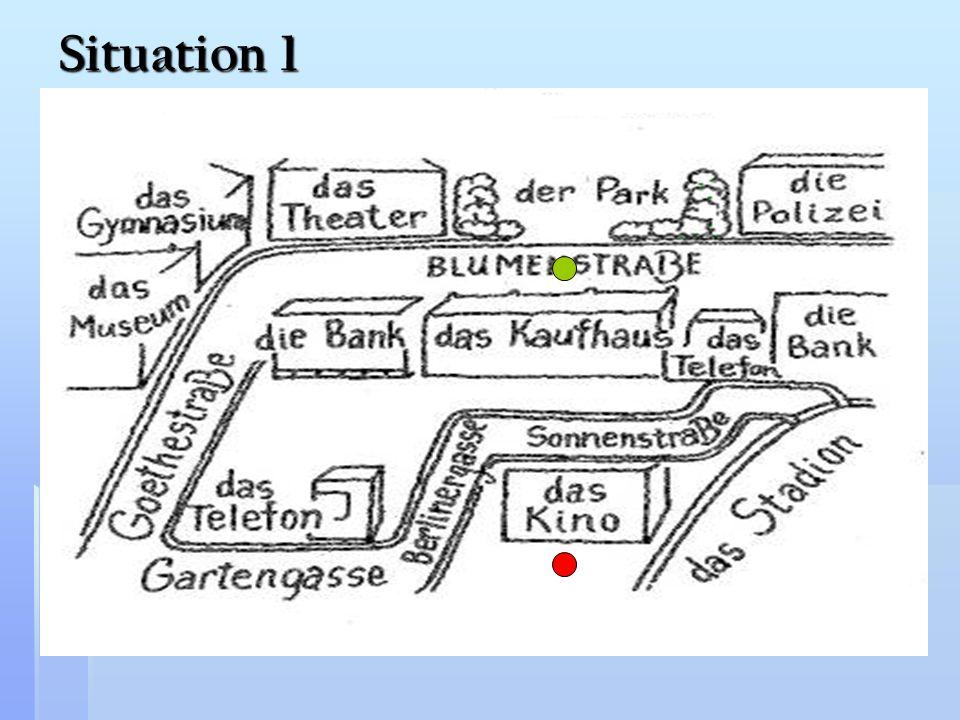Situation 1 deutsche Stadt