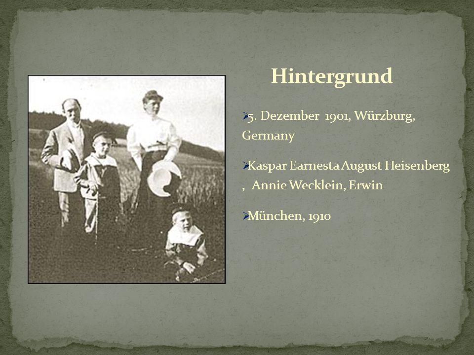Hintergrund 5. Dezember 1901, Würzburg, Germany