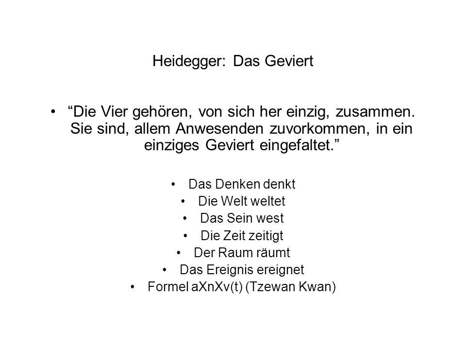 Heidegger: Das Geviert