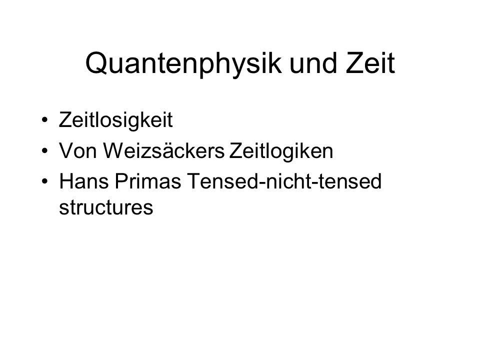 Quantenphysik und Zeit