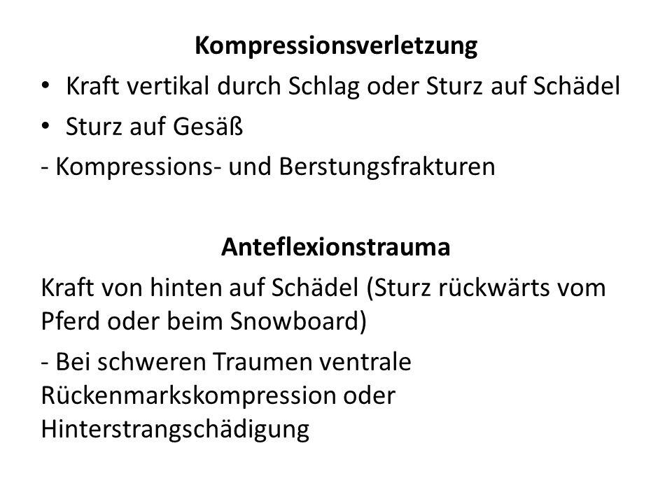 Kompressionsverletzung