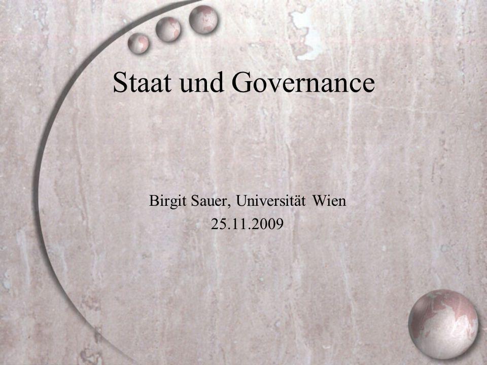 Birgit Sauer, Universität Wien 25.11.2009