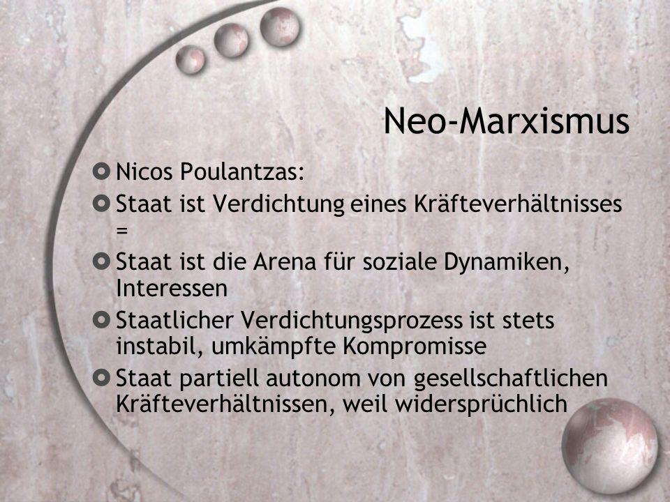Neo-Marxismus Nicos Poulantzas: