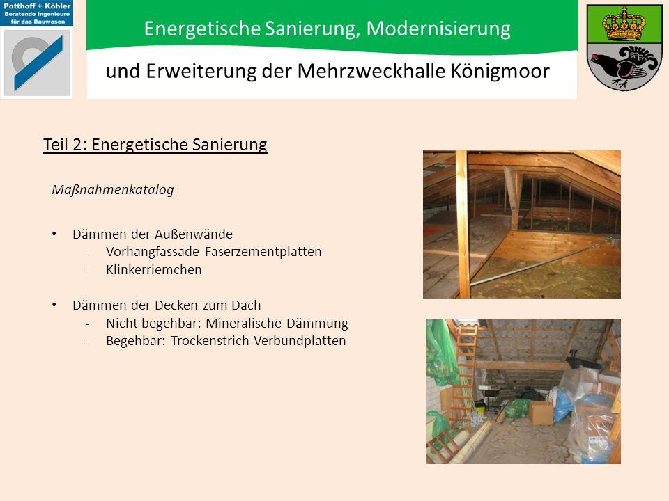 Energetische Sanierung, Modernisierung