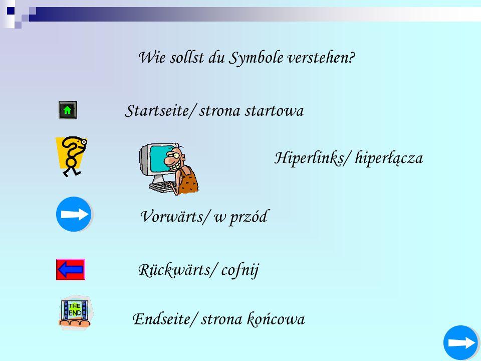 Wie sollst du Symbole verstehen