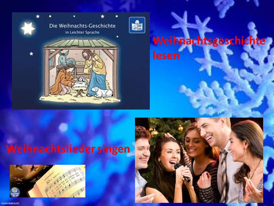 Weihnachtsgeschichte lesen